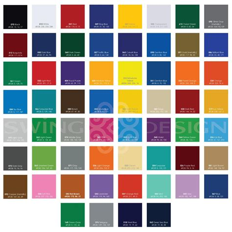 oracal 651 glossy vinyl sheets 12 inch x 12 inch 62