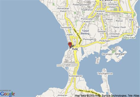 map  kuta beach club kuta