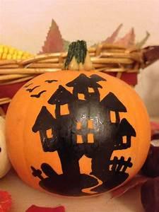Bemalte Kürbisse Vorlage : halloween k rbisse bemalt bilder ~ Markanthonyermac.com Haus und Dekorationen
