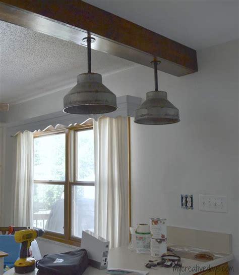 diy kitchen light fixtures part   creative days