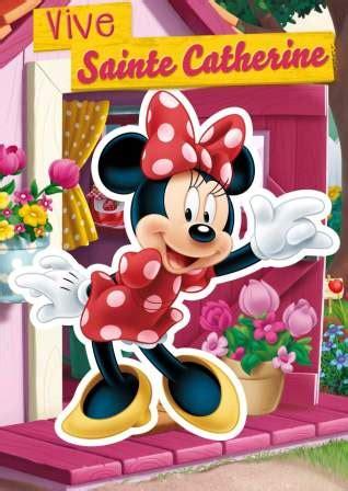 Carte De Sainte Catherine Disney by Cp Ste Catherine Minnie 73384 25 Cartes 0 86 Pice