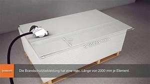 Fermacell Platte Brandschutz : tr ger und st tzenbekleidung mit fermacell gipsfaser platten gem din 4102 youtube ~ Watch28wear.com Haus und Dekorationen