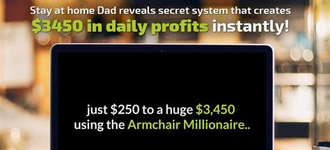 Armchair Millionaire by Armchair Millionaire It S More Like An Armchair Scam