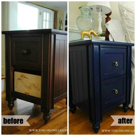 Blue Nightstand by Navy Blue Nightstand The Chronicles Of Home