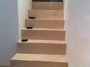Avec Quoi Recouvrir Un Escalier En Carrelage : application du beton cire sur un escalier arcane industries ~ Melissatoandfro.com Idées de Décoration