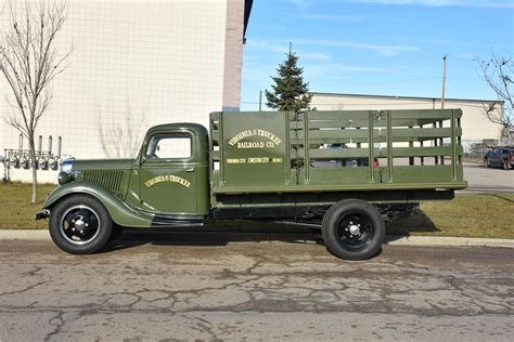 1936 Ford 1-1/2-ton Stake Bed Truck