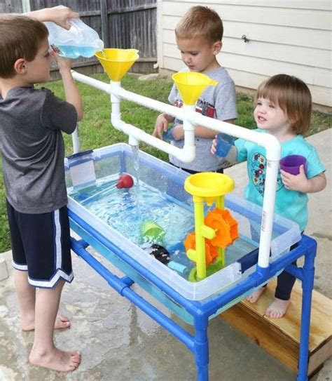 water table for kids make a sand or water table for the kids mouths of mums