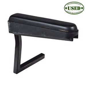 right armrest assembly with armpad for jazzy power chairs used scooter parts