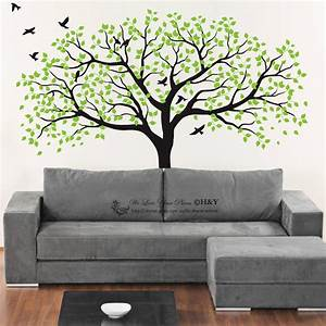 150x180cm nursery tree wall stickers kids art removable for Wall murals decals