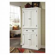 Nantucket Pantry Distressed White Pantry Cabinets At Hayneedle Altra SystemBuild White Kendall 36 Inch Storage Cabinet Free Storage Cabinet Pantry On Pinterest Kitchen Pantry Cabinets White Pantry Storage Cabinet Or Tall Pantry Cabinet Design Ideas White