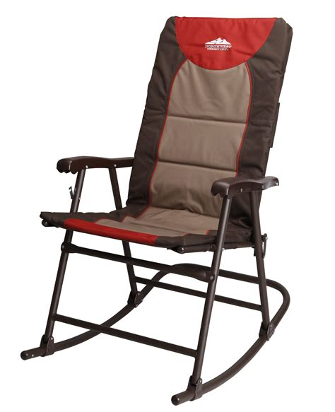 rocking folding chair