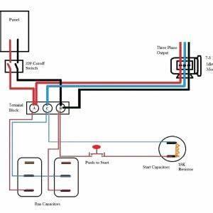 Ronk Phase Converter Wiring Diagram