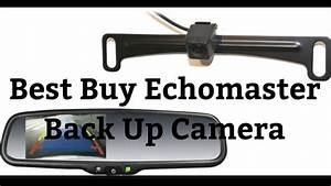 Best Buy Echomaster Back Up Camera Rear View Mirror