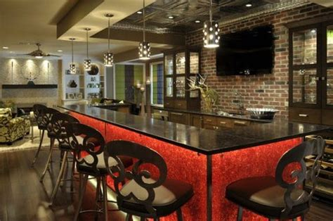 Home Bar Colors by 52 Awesome Home Bar Designs