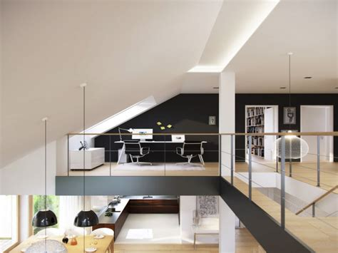 Interior Designs For Small Homes, Small Loft Home Office