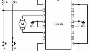 Control The Direction Of Rotation Of A 6v Dc Motor Using