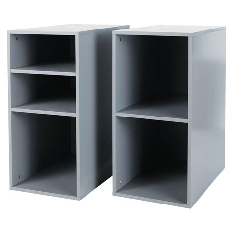 caisson de bureau en bois 2 caissons de bureau en bois gris h 73 cm desk maisons