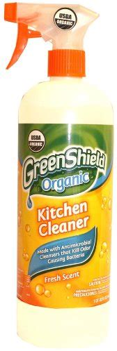 organic kitchen cleaner greenshield organic usda organic kitchen cleaner 32 1225