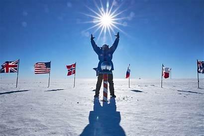 Pole South Antarctica Alaska Uaf University Ceremonial