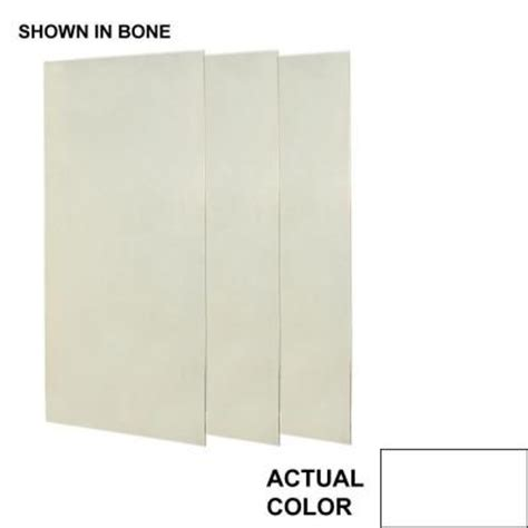 swanstone 36 in x 72 in three easy up adhesive - Shower Panels Home Depot