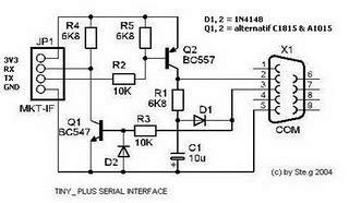 Usb Serial Port Adapter Electronic Circuit Diagram