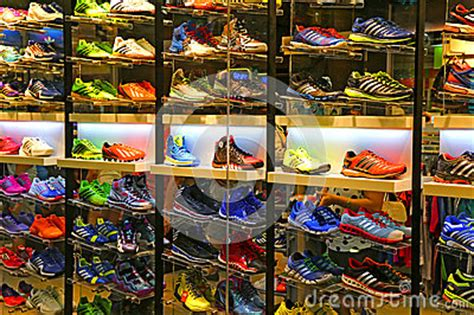 Models Sports Stores by Adidas Sports Shoes Store Editorial Stock Photo Image