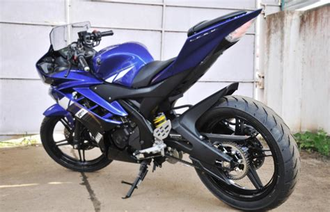 R15 Bike Modified by Modified 2012 Yamaha R15 Version Price In India