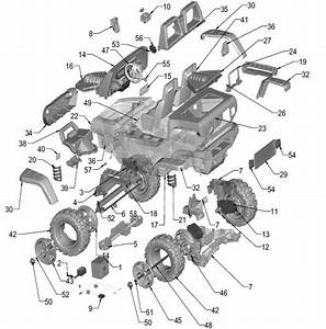 Power Wheels Jeep Hurricane Parts