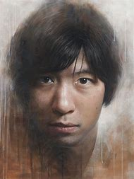 Realistic Self Portrait Painting