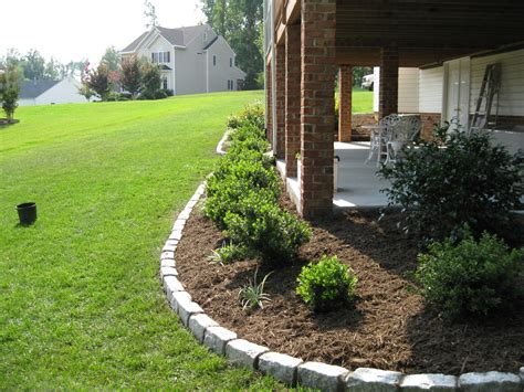 landscape around patio landscaping richmond va plant installation richmond va cross creek nursery landscaping