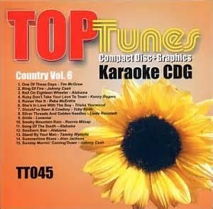 Various Artists  Top Tunes Karaoke Cdg Country Vol 6 Tt