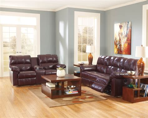 With Maroon Couch Living Room Idea  Modern Home Design Ideas