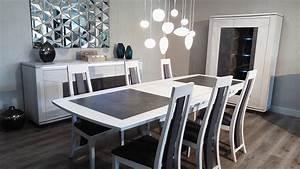 Salle A Manger Design : ensemble salle manger bois et c ramique ensemble salle manger meubles ~ Teatrodelosmanantiales.com Idées de Décoration