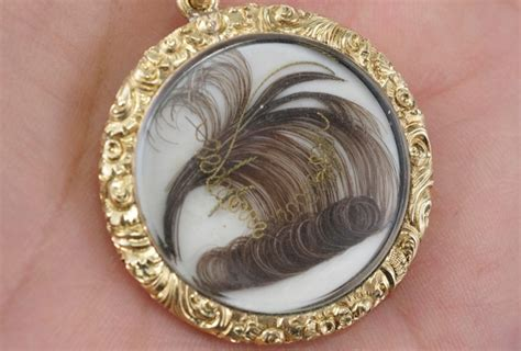 human hair jewelry   buy antique mourning jewelry