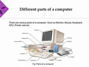 Basic parts of computer and their functions pdf
