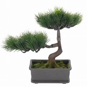 Baum Im Topf : bonsai baum im topf kunstpflanze dekopflanze kunstbaum ~ Michelbontemps.com Haus und Dekorationen