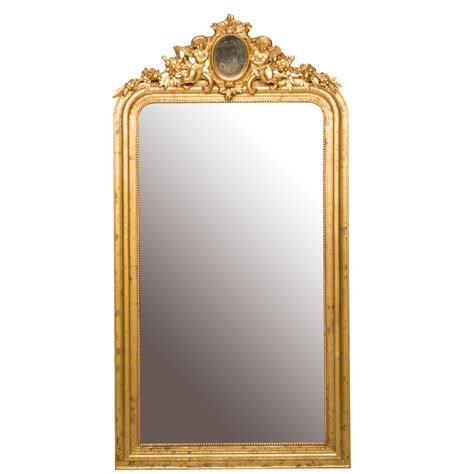 wooden frame mirror louis philippe style antique mirror northgate gallery