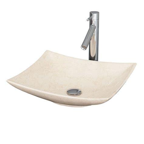 wyndham collection arista vessel vanity sink in ivory