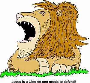 Image: Roaring Lion - Jesus is a Lion no-one needs to ...