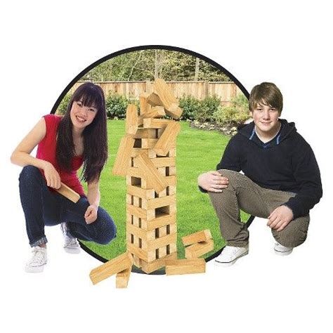 giant jumbling tower holiday gifts pinterest black