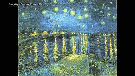 Top 10 Vincent Van Gogh Paintings  Youtube