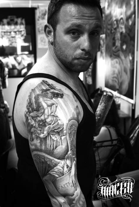 Roma tattoo expo: Cain, the first Slayer | Antonio Macko
