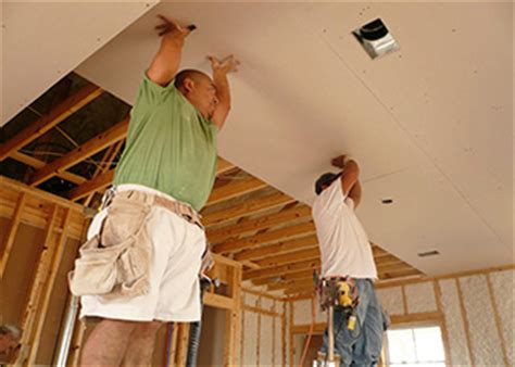 finishing drywall on ceiling drywall and ceiling tile installers and tapers