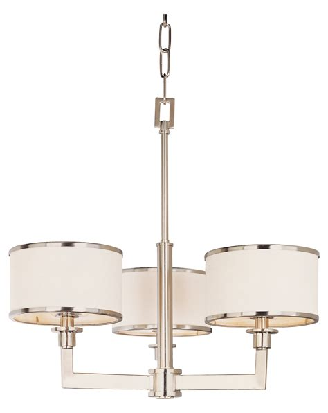maxim three light satin nickel drum shade mini chandelier