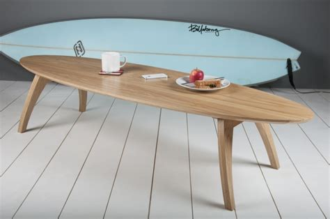 table basse pour chambre idée déco chambre ado autour du surf et de la mer