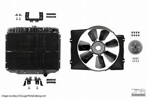 Cooling System Upgrade - Small Block - Complete Kit - Repro ~ 1967 - 1968 Mercury Cougar / 1967 ...