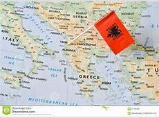 Albania Flag Stock Photo CartoonDealercom #84211812