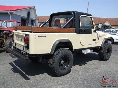 scrambler jeep years 1984 jeep cj8 scrambler
