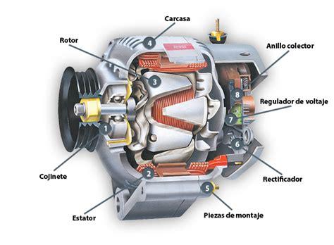 partes de un alternador alternador automovil
