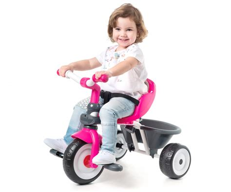 baby driver comfort pink wheels toys products www smoby